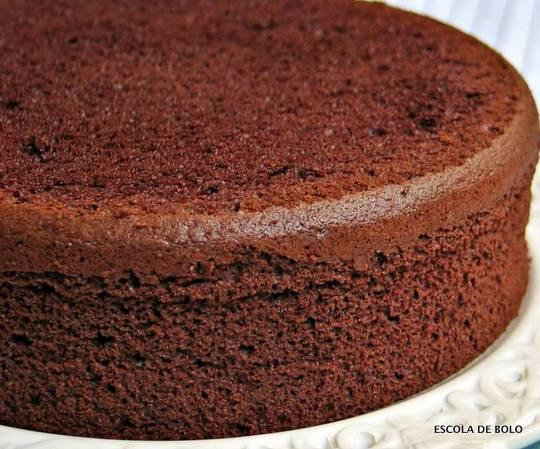 Faça Um Delicioso Bolo De Chocolate Para Bolo De Andares